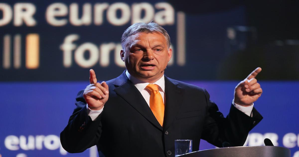 Orban tiranno in europa